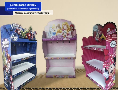 Exhibidores Disney